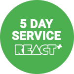 React+ 5 Day Service